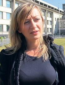 Nerma Jelačić - Šefica Službe za komunikacije u Tribunalu