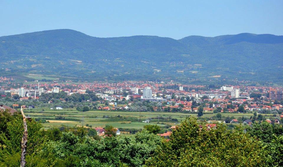 Panorama Prijedora