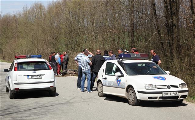 Motociklista smrtno stradao u Rakelićima