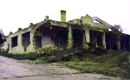 Rusevine drustvenog doma u Hambarinama