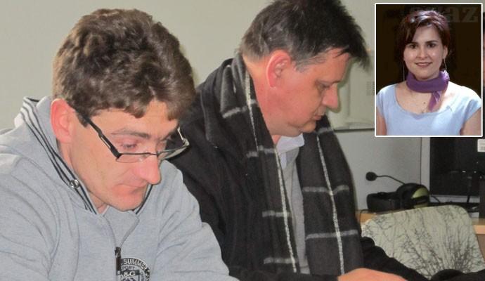 Ubica Karabegovic sa svojim advokatom
