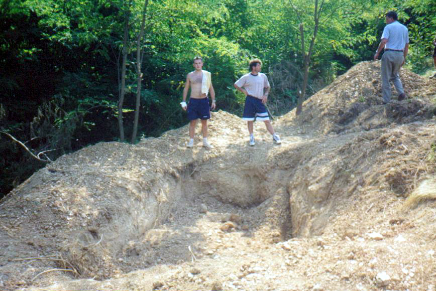 Gobnica Siljak u Hambarinama, august 1998