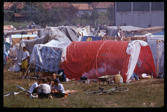 Trnopolje Detention Camp in Bosnia
