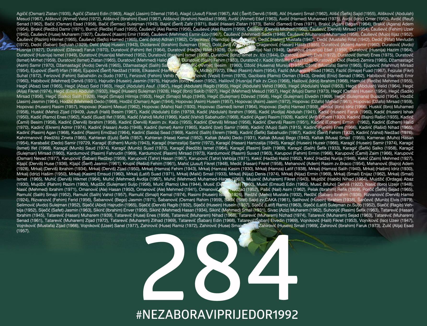 #NEZABORAVIPRIJEDOR1992