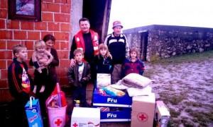 Sedmočlanoj porodici stigla pomoć iz Sanskog Mosta