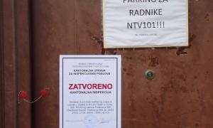 Policija zapečatila prostorije NTV 101 u Sanskom Mostu