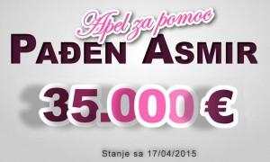 Vazna informacija povodom pomoci Asmiru Padjenu iz Hambarina